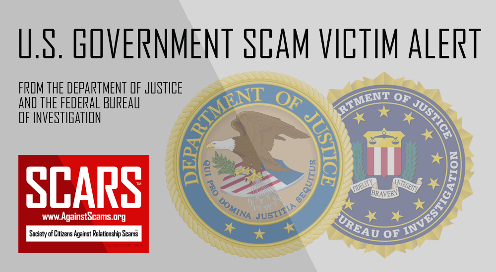 SCARS™ Victim Alert: U.S. DoJ & FBI Internet Fraud Victims' Notice 9