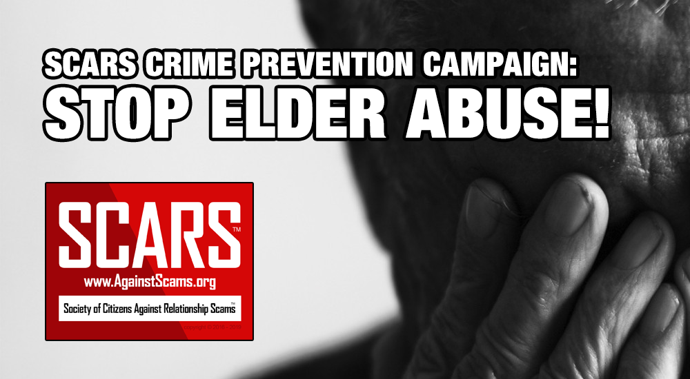 SCARS™ Crime Prevention Campaign: Stop Elder Abuse! 1