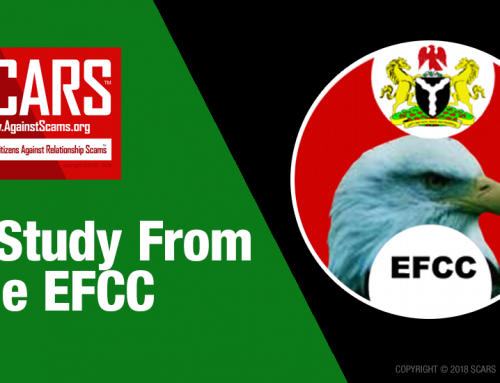 SCARS™ Insight: A Cybercriminal Study – Narratives of the Nigerian Economic and Financial Crimes Commission (EFCC) Agents