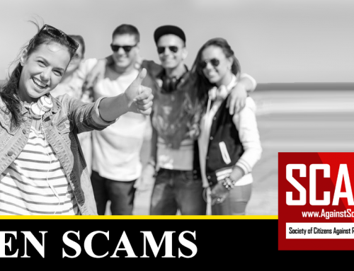 SCARS™ Scam Alert: New Scam Targeting Teens And Young Adults