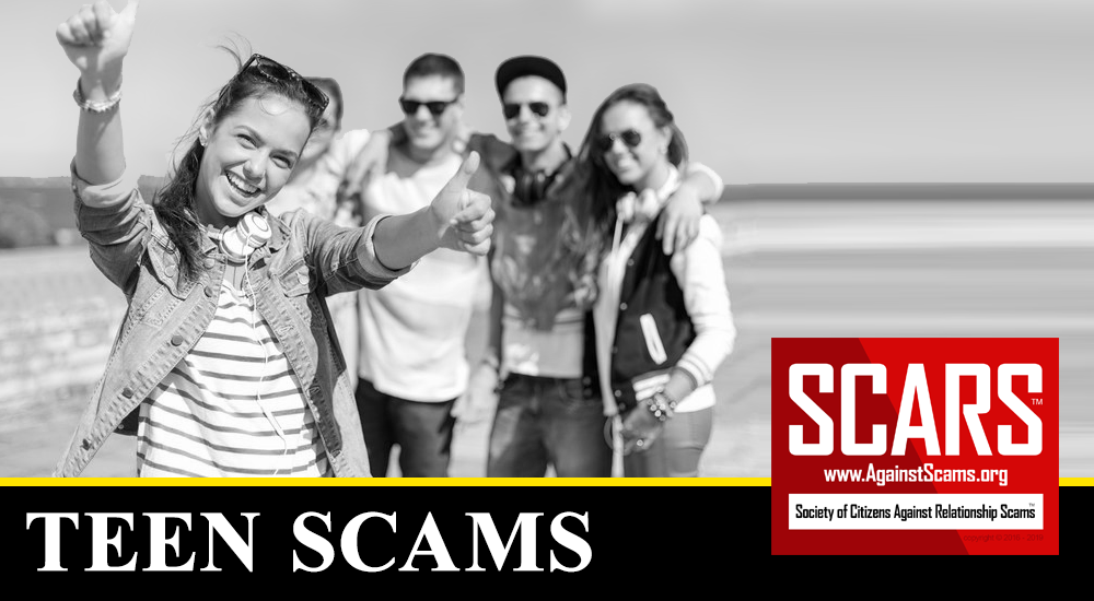 SCARS™ Scam Alert: New Scam Targeting Teens And Young Adults 1