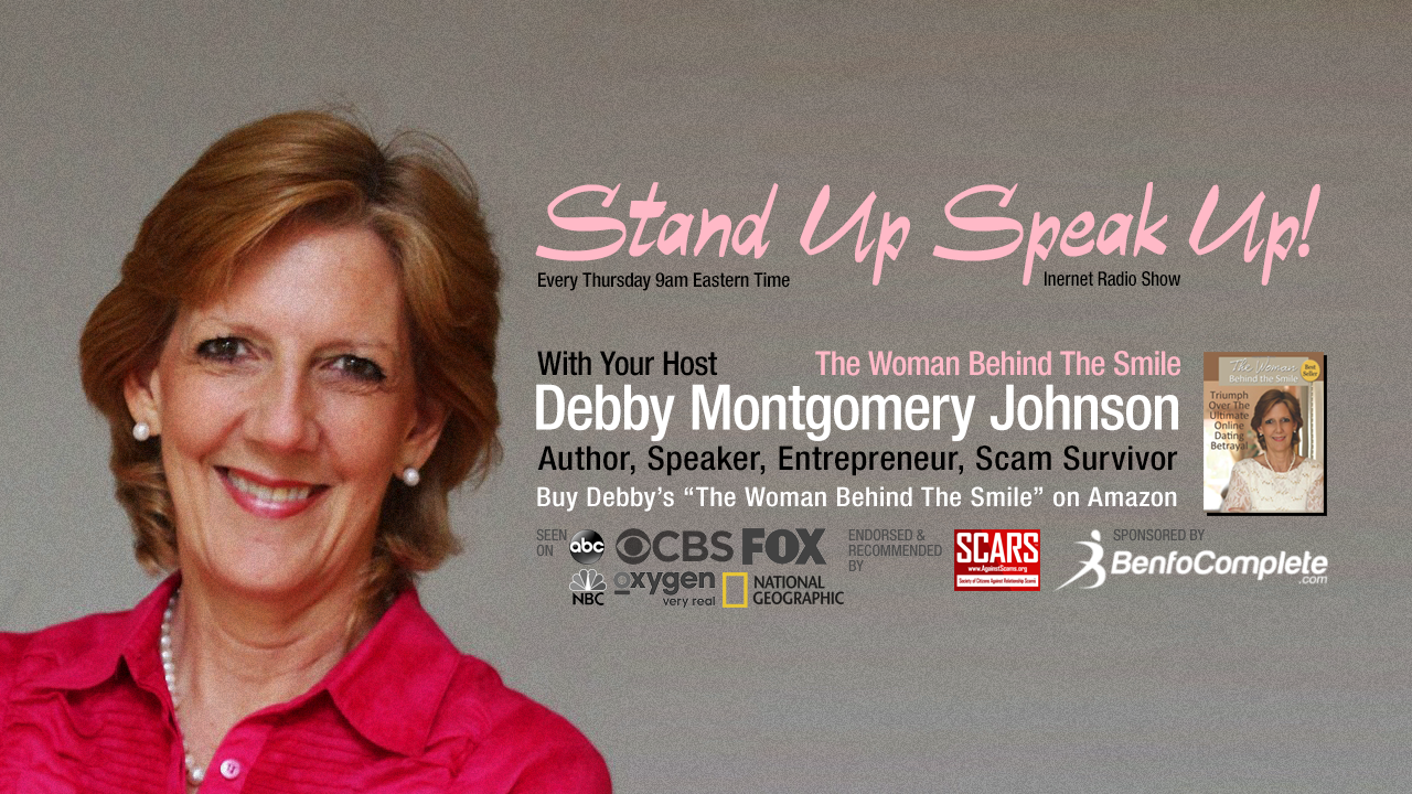 STAND-UP-SPEAK-OUT-COVER-2021 with Debby Montgomery Johnson