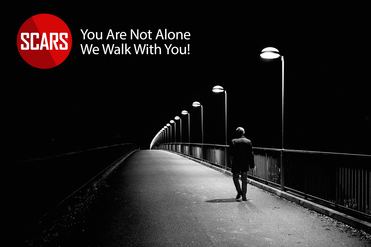 You are nto alone! We walk with you!
