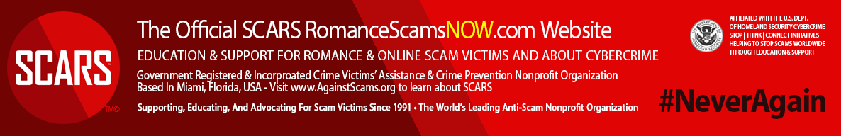 SCARS Romance Scams Education & Support Website Logo