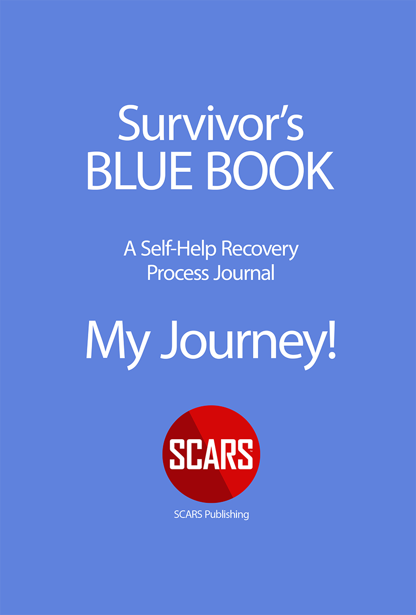 SCARS BLUE BOOK - Survivor's Recovery Journal - Available at the SCARS Store