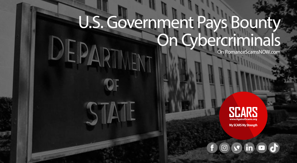 United States Government Pays Bounty on Cybercriminals