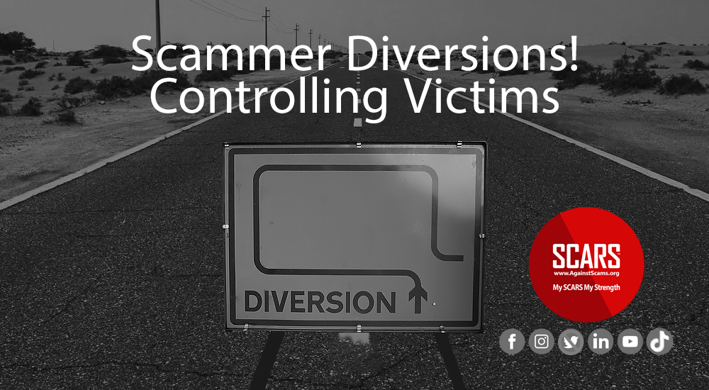Scammer Diversions _ A Part Of Gaslighting - Controlling Victims